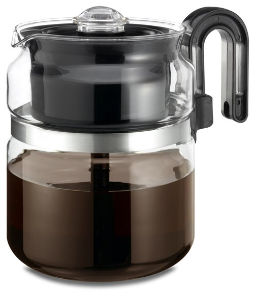 Glass 8-cup Stovetop Percolator - Thumbnail 1