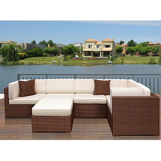 Atlantic Modena 6-piece Wicker Furniture Set