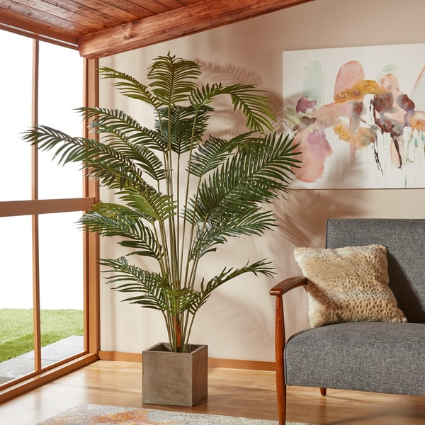 Paradise Palm 7 Foot Silk Tree Free Shipping Today