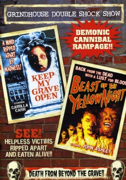 Grindhouse Double Feature: Beast Of Yellow Night/Keep My Grave Open (DVD)