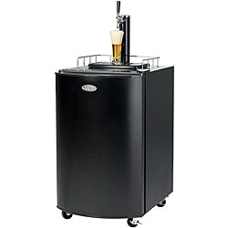 Nostalgia Electrics KRS-2100 Kegorator Beer Keg Fridge