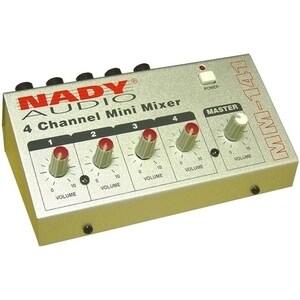 Nady MM-141 4-Channel Mini Mixer