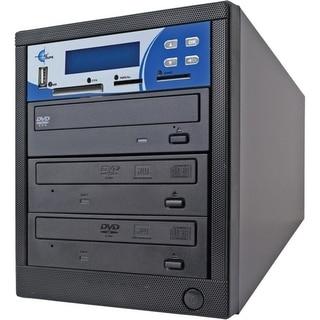 EZdupe MM02PIB 1:2 CD/DVD Duplicator