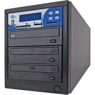 EZdupe MM02PIB 1:2 CD/DVD Duplicator|https://ak1.ostkcdn.com/images/products/3973440/EZdupe-MM02PIB-1-2-CD-DVD-Duplicator-P12006188.jpg?impolicy=medium