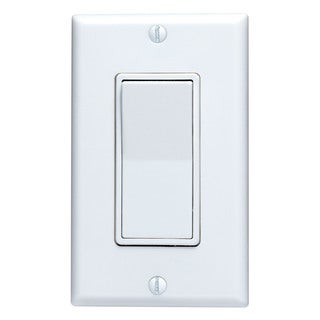 Leviton M32-5601-2WM White Residential Grade Decora AC Quiet Switch Rocker (Pack of 10)