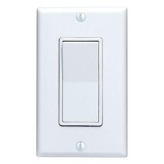 Leviton M32-5601-2WM White Residential Grade Decora AC Quiet Switch Rocker (Pack of 10)