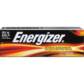 Energizer EN22: Alkaline 9-Volt Battery