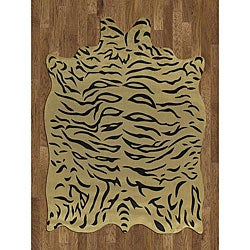 Tiger Hide Rug (5' x 7')