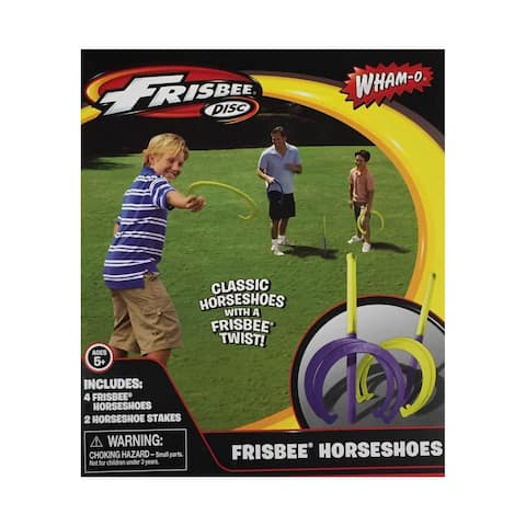 Frisbee Horseshoes Outdoor Game - Multi
