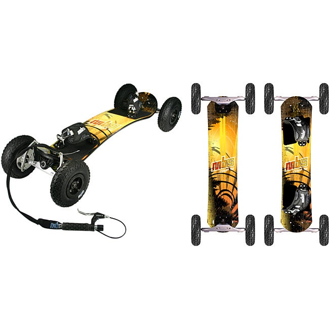 MBS COMP 95X Mountainboard with Stainless Hardware