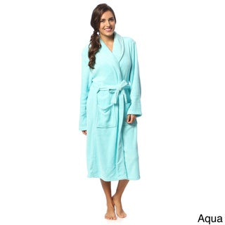 Link to Womens Microplush Bath Robe Similar Items in Intimates