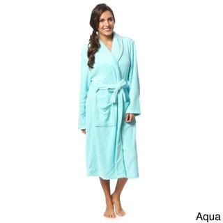 Link to Womens Microplush Bath Robe Similar Items in Bathrobes