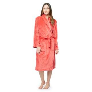 Women's Microplush Bath Robe