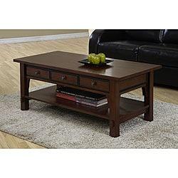Talisman 3-drawer Coffee Table