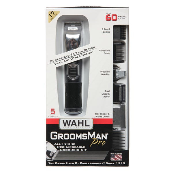 Shop Wahl All-in-one Rechargeable Groomsman Pro Groomer - Free Shipping On Orders Over $45 - Overstock - 3981376
