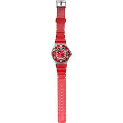 Dakota Women's Red Jelly Sport Watch