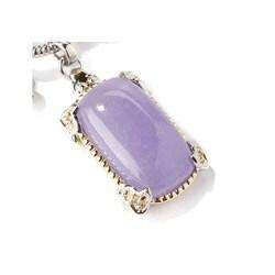 Michael Valitutti Palladium/ Silver Lavender Jade Bracelet