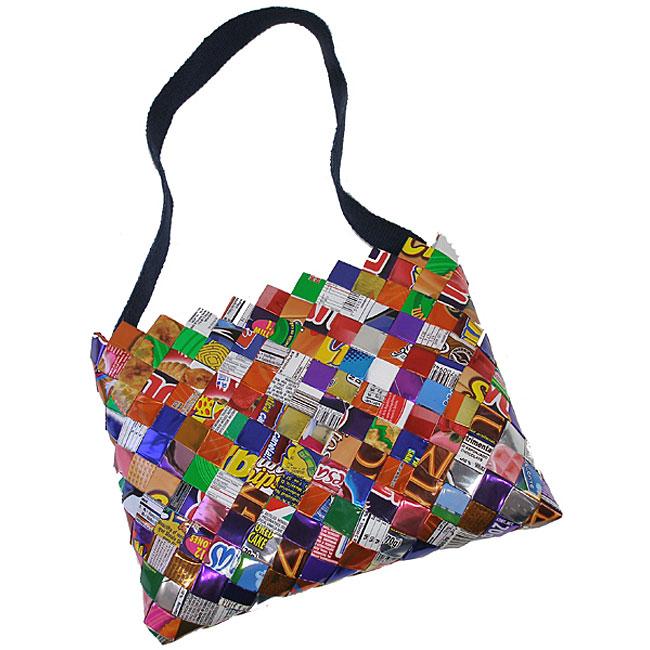 Foil Wrapper Cotton Strap Bag (Mexico)