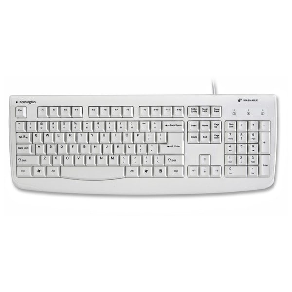 Kensington K64406US Washable USB/PS2 Keyboard