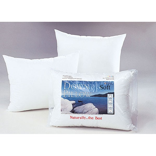 White Down Soft Support Pillow