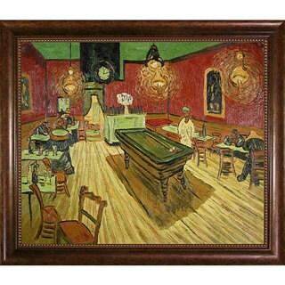 Van Gogh 'The Night Cafe' Oil Canvas Art