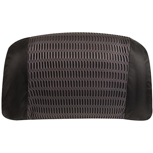 Travelon Black Comfortable Adjustable Inflatable Lumbar Pillow