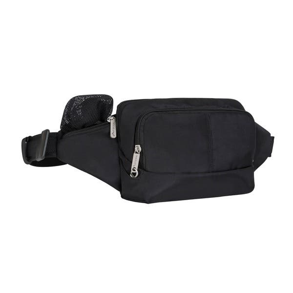 fast delivery huge discount new arrivals Shop Travelon Black Anti-theft Waist Pack - Free Shipping On ...