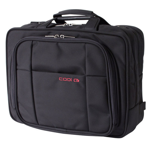 CODi CT3 Checkpoint-tested Duo 14.1-inch Laptop Briefcase