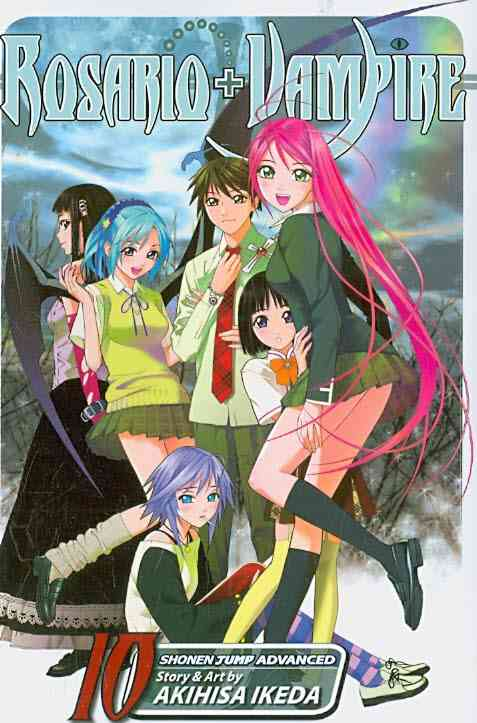 Rosario + Vampire 10: Magic Mirror (Paperback)