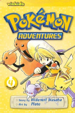 Pokemon Adventures 4 (Paperback)