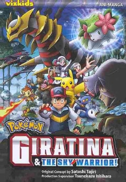 Pokemon Giratina & The Sky Warrior: Ani-manga (Paperback)