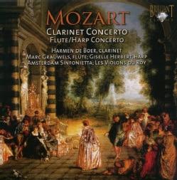 Marc Grauwels - Mozart: Clarinet Concerto; Flute & Harp Concerto