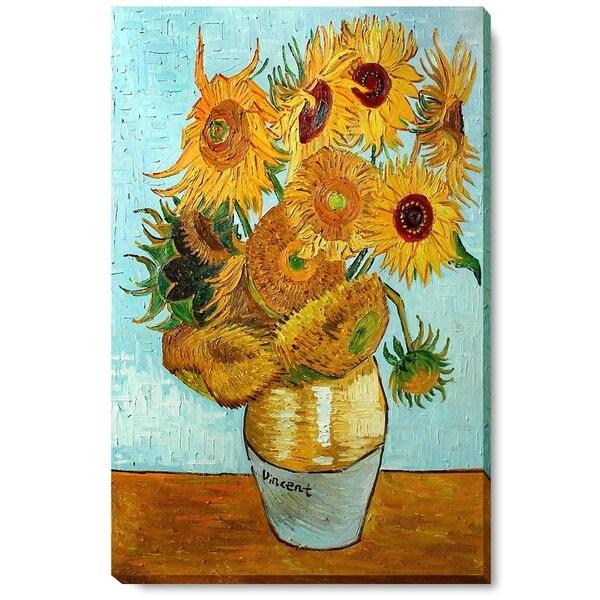 Vincent Van Gogh Sunflowers Oil Art Reproduction