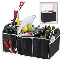 Picnic at Ascot brand - Original Folding Trunk Organizer with Removable Cooler