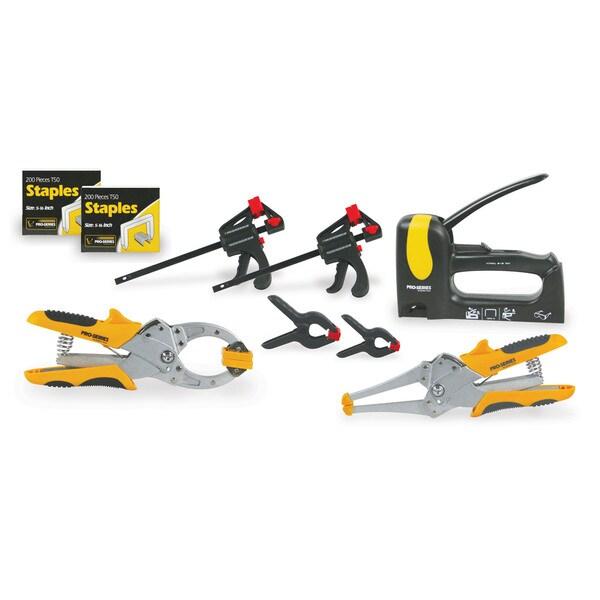 Buffalo Tools 7-piece Clamp and Staple Gun Set