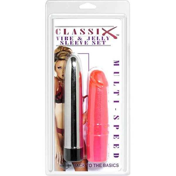 Pipedream Classix Vibe and Vibrator Set