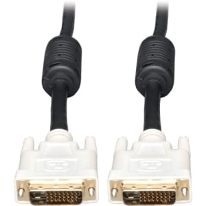 Tripp Lite 15ft DVI Dual Link Digital TMDS Monitor Cable Molded DVI-D