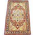 Herat Oriental Indo Hand-tufted Heriz Wool Rug (3'3 x 5'3)
