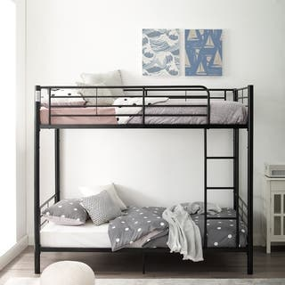 Black Metal Twin Bunk Bed|https://ak1.ostkcdn.com/images/products/3992659/P12021635.jpg?impolicy=medium