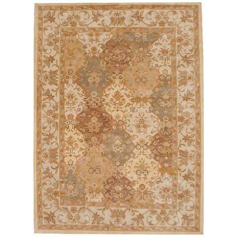 Handmade Tabriz Wool Rug (India) - 8'3 x 11'