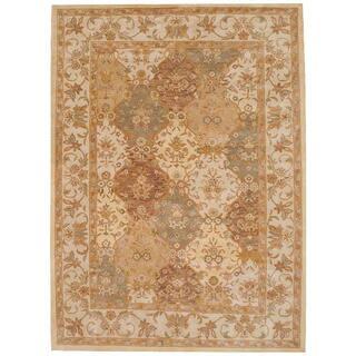 Herat Oriental Indo Hand-tufted Tabriz Wool Rug (8'3 x 11)|https://ak1.ostkcdn.com/images/products/3992773/P12021719.jpg?impolicy=medium