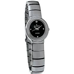 Peugeot Swiss Women's Tungsten Carbide Crystal Watch https://ak1.ostkcdn.com/images/products/3992959/Peugeot-Swiss-Womens-Tungsten-Carbide-Crystal-Watch-P12021862.jpg?impolicy=medium