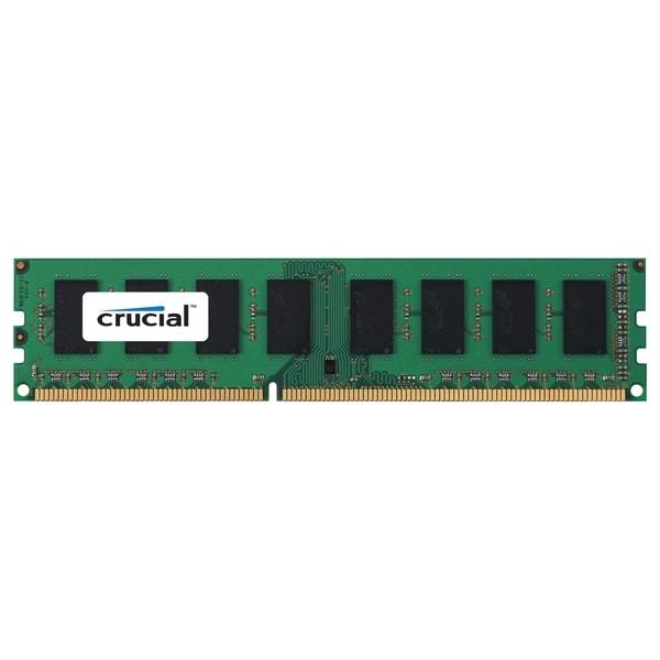 Crucial 2GB, 240-Pin DIMM, DDR3 PC3-8500 Memory Module