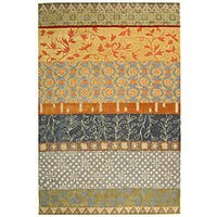 Safavieh Handmade Rodeo Drive Bohemian Collage Multicolored Wool Rug - 6' x 9'