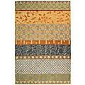 Safavieh Handmade Rodeo Drive Bohemian Collage Multicolored Wool Rug (6' x 9')