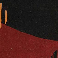 Safavieh Handmade Rodeo Drive Abstract Black/ Red Wool Rug (3'6 x 5'6) - Thumbnail 2