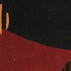 Safavieh Handmade Rodeo Drive Abstract Black/ Red Wool Rug (5' x 8') - Thumbnail 2
