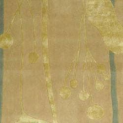 Safavieh Handmade Rodeo Drive Modern Abstract Ivory/ Gold Wool Rug (5' x 8') - Thumbnail 2