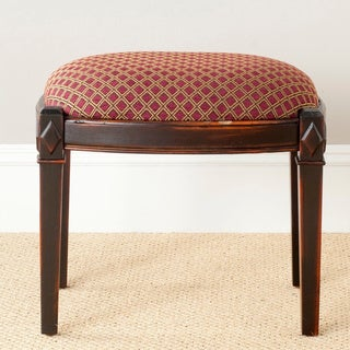 Safavieh Lindy Dark Brown Ottoman