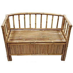 Bamboo Storage Bench (Vietnam)